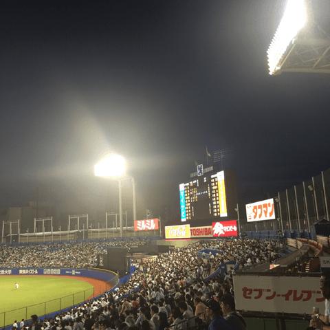 関東の広島ファンにとっては聖地とも言える神宮球場