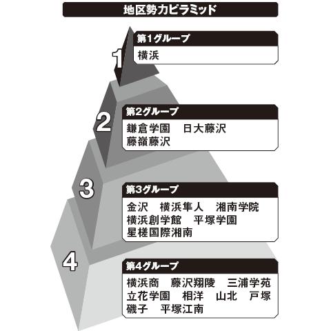 南神奈川 勢力ピラミッド